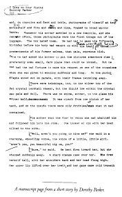 Paris Review Dorothy Parker The Art Of Fiction No 13