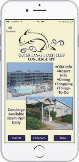 Outer Banks Beach Club Concierge App Outer Banks Nc