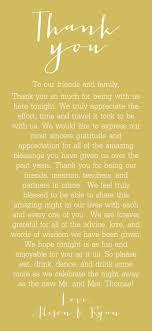 25 Cute Thank You Speech Wedding Ideas On Pinterest Wedding