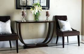 contemporary foyer table foyer tables modern round foyer table