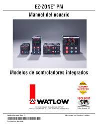 watlow ez zone pm pid manual del usuario páginas 134