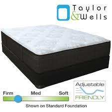 plush vs firm mattress. Taylor \u0026 Wells® 13.5\ Plush Vs Firm Mattress P