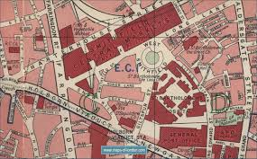 old maps of london early twentieth century london maps