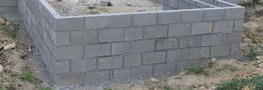 concrete block wall cost factors