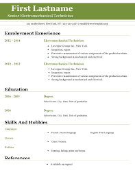 Resume Template Open Office Superb Resume Templates Open Office
