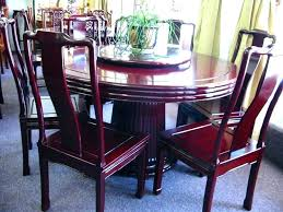 chinese dining tables dining table and chairs rosewood round table set available in diffe sizes cushions chinese dining tables