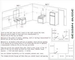 Height of a kitchen work Plan