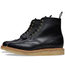 Mark Mcnairy Crepe Sole Brogue Boot