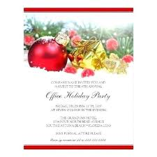 Amazing Office Holiday Party Invitation Wording And Work Templates