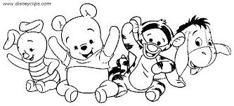 Free Printable Coloring Pages Baby Characters Download Them Disney