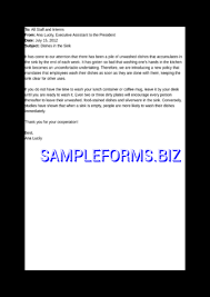 Sample Memo Template & Samples Forms