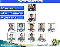 Philippine National Police Organizational Chart Police Dept And Fire Protection Aliaga Municipality