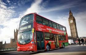 Resultado de imagen de autobús de Londres