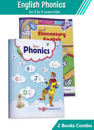 The phonetic system of english is consisted of the. Buy English Phonics Books For Kids Learn English Abcd Letters 2 And 3 Letter Words With Various Alphabet Sounds 2 To 5 Year Old For Pre Primary Preschool Kindergarten