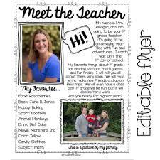 Meet The Teacher Letter Templates Meet The Teacher Tips Thehappyteacher
