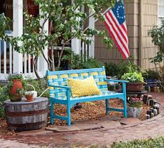 Bench Garden Furniture Paint Colours Renewing Bench Garden