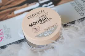 catrice matt mousse make up review