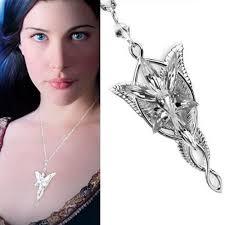 rings arwen evenstar pendant necklace