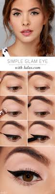 simple glam eye makeup tutorial