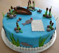 215 Best Fishing Cakes Images Fishing Cakes Fish Cake Birthday