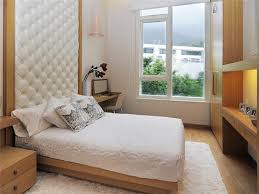 Perfect A Beautiful Small Bedroom With White Accent . The Cabinet And Bedside Table  Makes Use Of