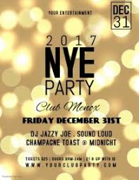 New Year Flyers Template 24 740 Customizable Design Templates For New Years Club