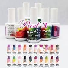 Details About Wavegel Mood Part A Change Gel Polish More 66 Colors Than Lechat Perfect Match