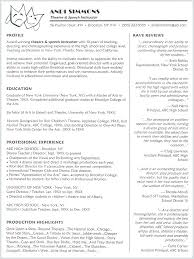 Acting Sample Acting Performing Arts Resume Template