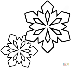 Small Picture Two Little Snowflakes coloring page Free Printable Coloring Pages