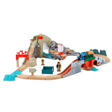 fisher thomas the train wooden railway pirate cove discovery set train set com