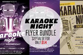 Karaoke Night Flyer Template Karaoke Night Flyer Template Bundle Flyer Templates Creative Market 16