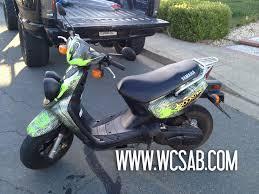 yamaha zuma scooter. yamaha zuma scooter vinyl wrap. wcsab-zuma-wrap2