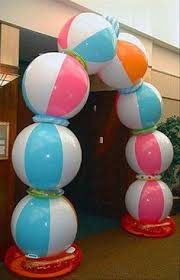 party decoration ideas beach