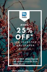 Avail InkShuffle Wall Murals in various themes and designs at a much lower  price plus FREE