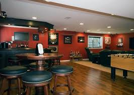 basement ideas. Unfinished Basement Ideas For The Entertainment Room