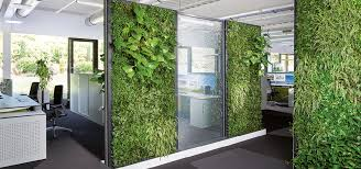 green wall office. Angenehmes Raumklima Durch C+P Pflanzenwände Green Wall Office Möbelsysteme