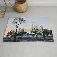 lexington ky horse farm rug