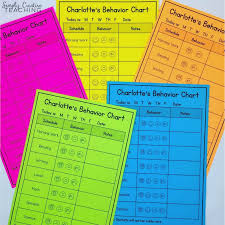 Behavior Smiley Chart Creating Effective Individual Student Behavior Charts