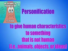 figurative language simile assonance personification alliteration  9 personification to give