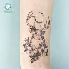 15 Různých Barev černá Tisk Ovce Antilopy Tetování Waterfproof