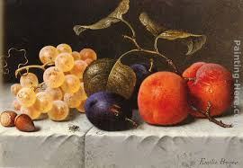 still life with fruit and nuts painting emilie preyer still life with fruit and nuts