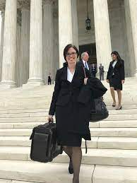 A familiar face in DC: rising SCSJ voting rights attorney argues first case  at SCOTUS | The Progressive Pulse