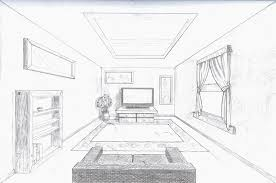 kitchen 1 point perspective. single point perspective room by arob kitchen 1