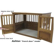 furniture pet crates. Plain Crates Furniture Pet Crates Wood Dog Crate French Door Details O Wooden For Sale Uk Intended Furniture Pet Crates