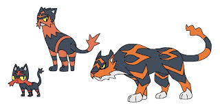 Litten Evolution Chart Sun Litten Final Evolution By Devildman Pok U00e9mon Know Your