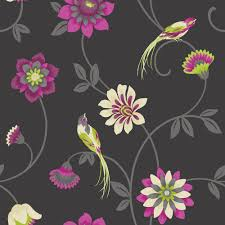 Pink And Black Wallpaper For Bedroom