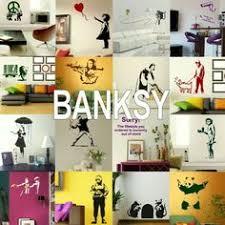 Details about <b>Banksy Wall Stickers</b> - <b>Home</b> Art Decor - Self Adhesive ...