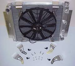 mcculloch fabricating inc specializing in aluminum radiators for fan mounts 4 piece fit all sizes of spal fans