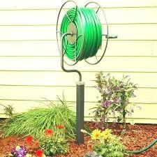 garden hose holder free standing outdoor diy guide