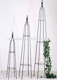 garden obelisk trellis. Obelisk Metal Garden Square Tube Trellis BS090003